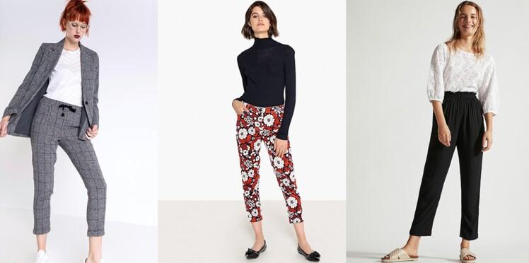 pantalon toutes les nouveaut s tendance de la saison femme actuelle le mag. Black Bedroom Furniture Sets. Home Design Ideas