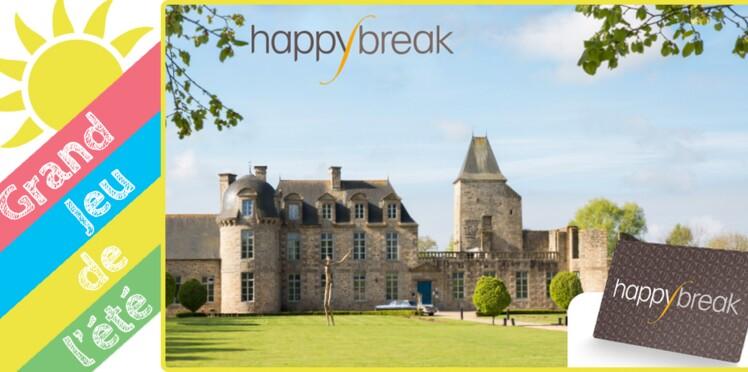 Happybreak :  Un séjour de charme ou 60 cartes à gagner