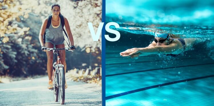 Je veux mincir, affiner mes jambes, faire du cardio... Je choisis le vélo ou la natation ?