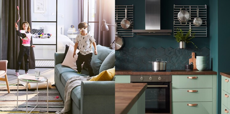 ikea les pages du catalogue 2019 d voil es en avant premi re femme actuelle le mag. Black Bedroom Furniture Sets. Home Design Ideas