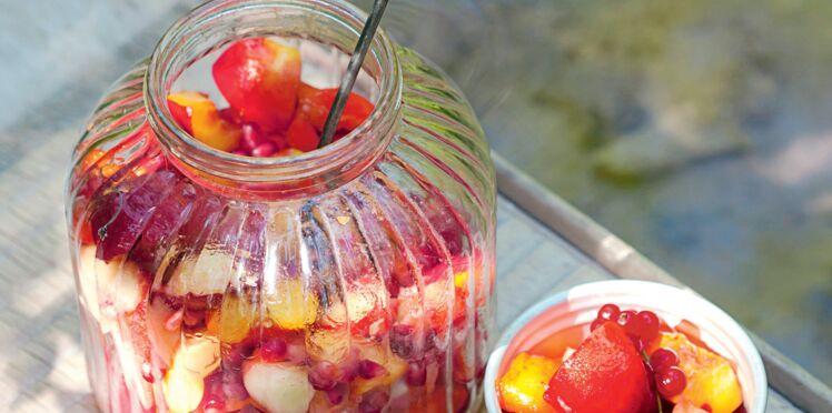 Salade croquante de fruits d'été