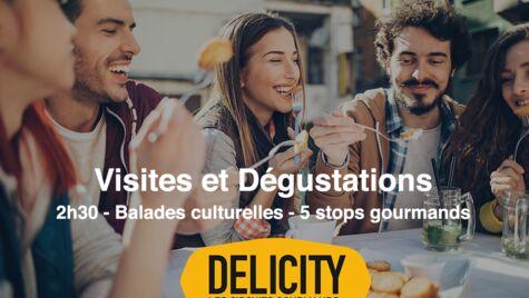 Délicity vous propose des food-tours : des visites guidées d'un quartier pittoresque de nos plus belles villes de France, ponctuées de pauses gourmandes !