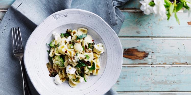 Orecchiete aux brocolis et anchois