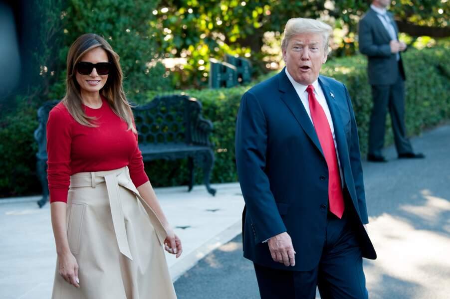 Melania Trump prend position contre son mari Donald Trump