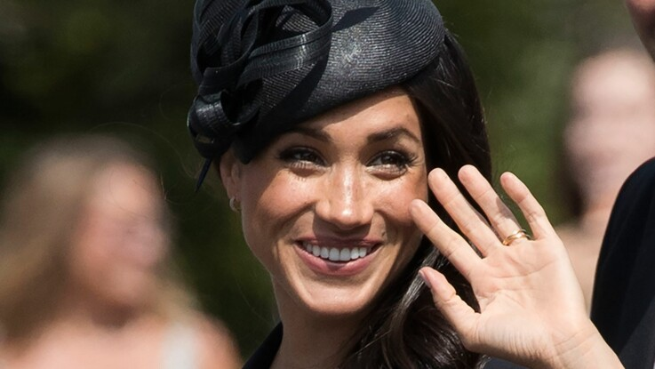 Photos - Meghan Markle dévoile accidentellement son soutien-gorge