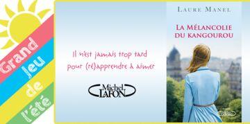 """Gagnez """"La mélancolie du kangourou"""" de Laure Manel"""