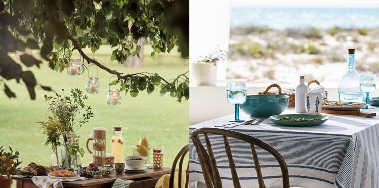 Notre sélection d'articles pour déjeuner en extérieur avec style