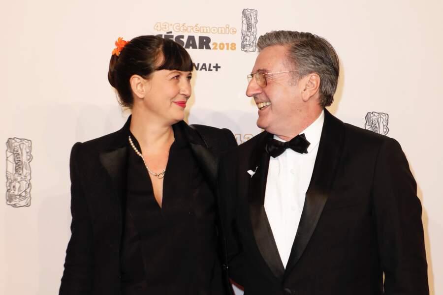 Daniel Auteuil et sa femme Aude Ambroggi : 2018