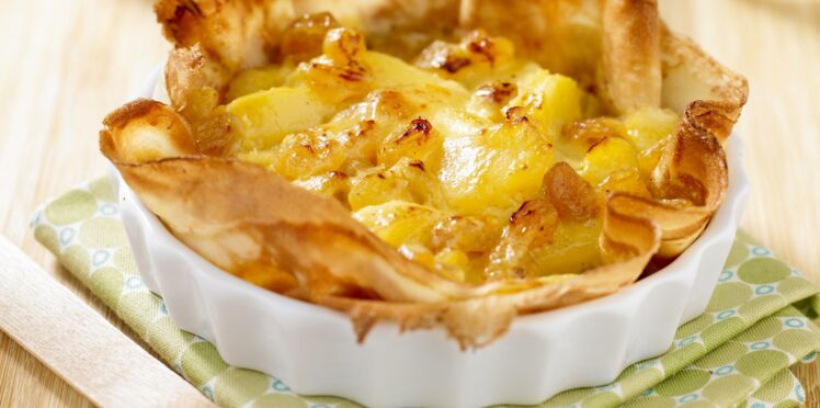 La « Tart'crêpe » aux pommes