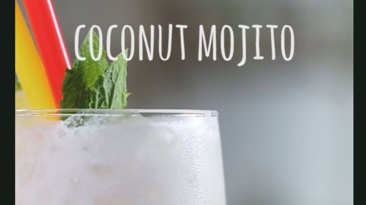 La recette du coconut mojito en vidéo