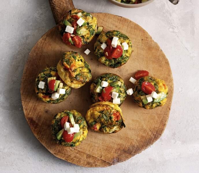 Les muffins aux œufs