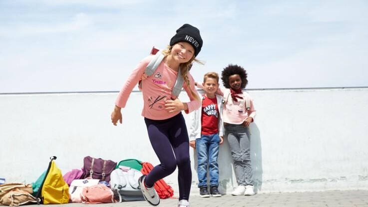Mode enfants : en route pour l'école avec Gémo et sa collection spéciale rentrée !
