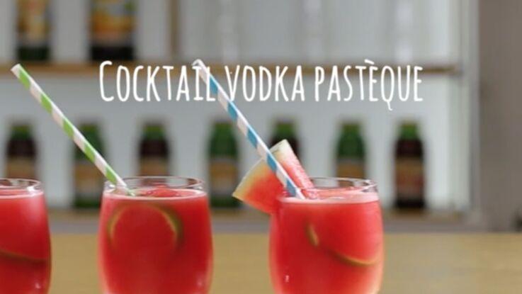 Vodka pastèque : la recette du cocktail ultra-frais en vidéo