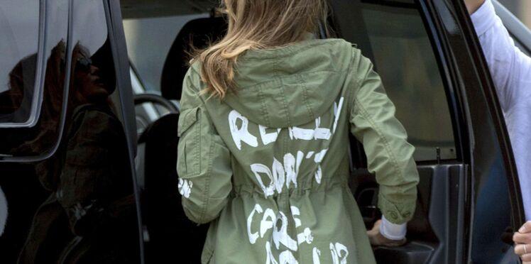 Melania Trump utilise ses tenues pour se rebeller contre son mari