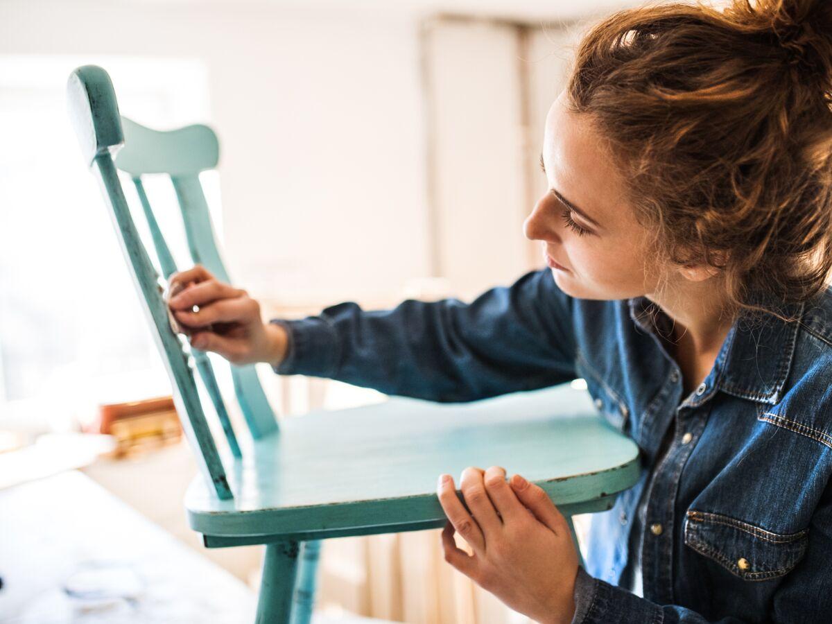 Peinture A Paillette Pour Meuble peinture pour meubles : tout ce qu'il faut savoir : femme