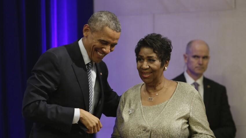 Vidéo - Mort d'Aretha Franklin : le jour où elle a fait pleurer Barack Obama