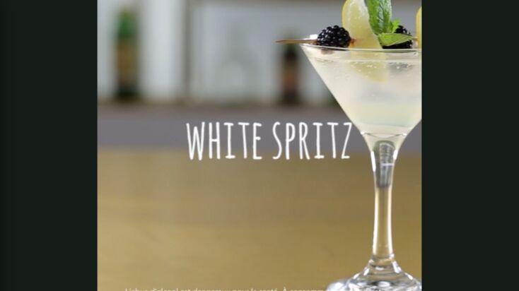 La recette du cocktail white spritz en vidéo