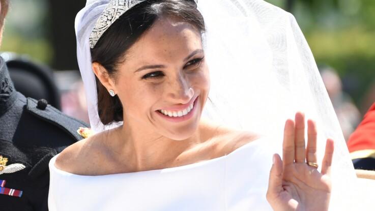 Meghan Markle va devoir prêter sa robe de mariée : découvrez pourquoi