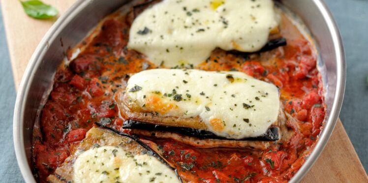 Escalopes de veau aux aubergines