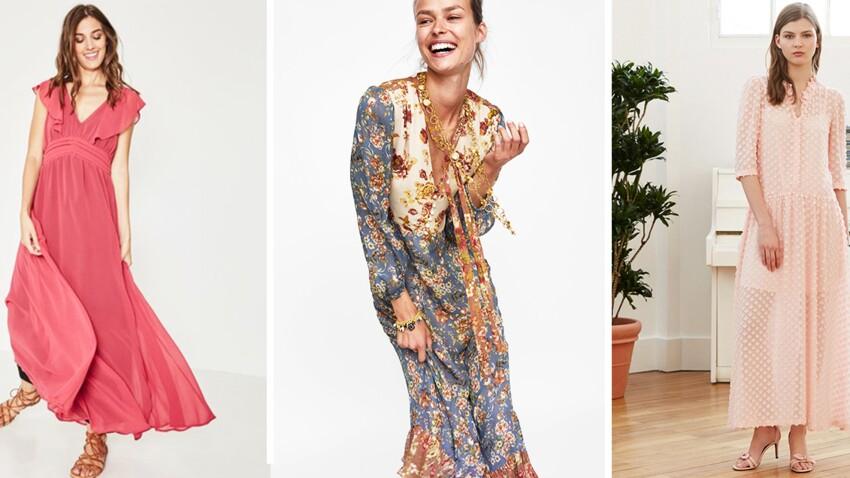 Robes Longues Les Plus Beaux Modeles La Rentree Femme Actuelle Le Mag