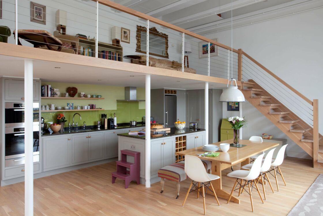 Aménagement Mezzanine Petit Espace mezzanines : 5 aménagements pour gagner de la place dans la
