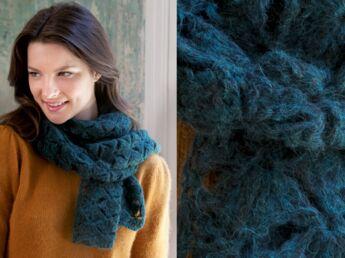 Snood au tricot   les plus beaux modèles gratuits   Femme Actuelle ... 80b97cc797e