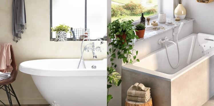 Aménagement de la salle de bain : quelle dimension de baignoire ...