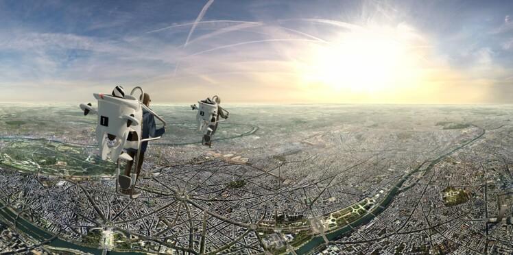 Survoler Paris en jetpack grâce à la réalité virtuelle
