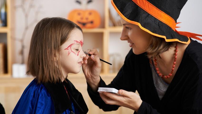 Halloween : 10 maquillages pour enfant faciles à réaliser