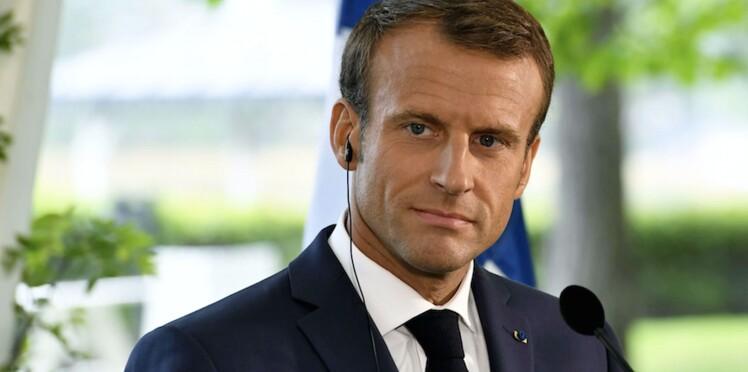 Photos - La tête d'Emmanuel Macron après avoir bu un café en Finlande fait rire les internautes