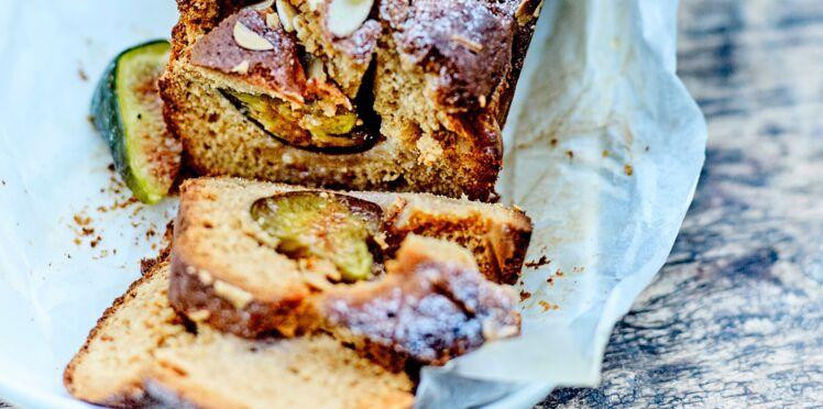 Cake aux amandes et aux figues