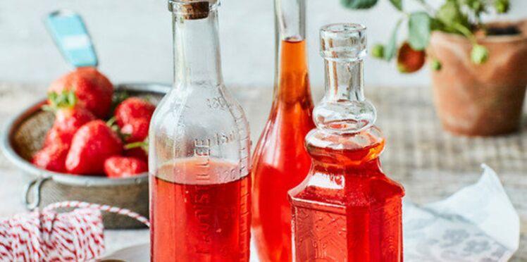 Sirop de fraise naturel