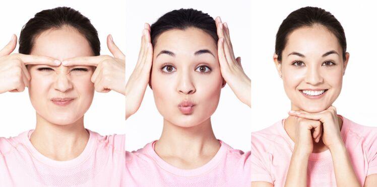 Gym faciale : 4 exercices pour un effet anti-âge