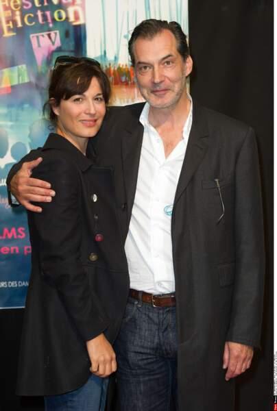 Samuel Labarthe et sa femme Hélène Medigue