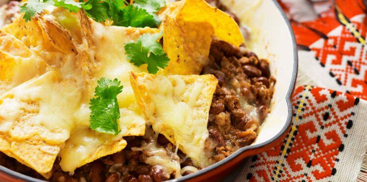 Chili con carne comme au Mexique