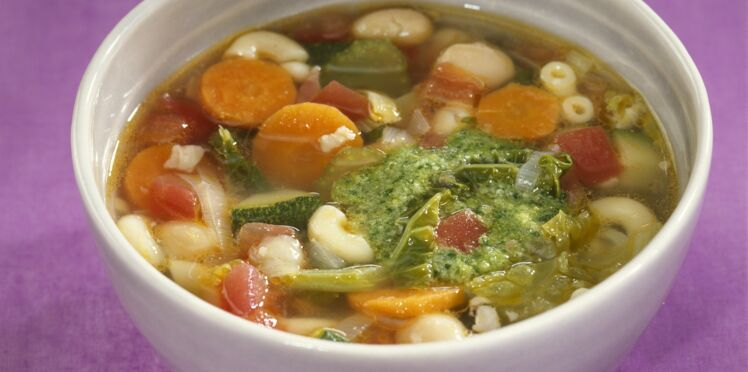 Minestrone aux coquillettes