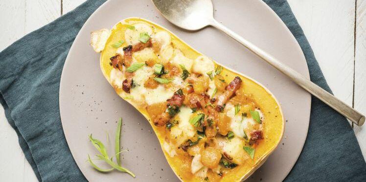 Doubeurre : comment cuisiner la courge butternut
