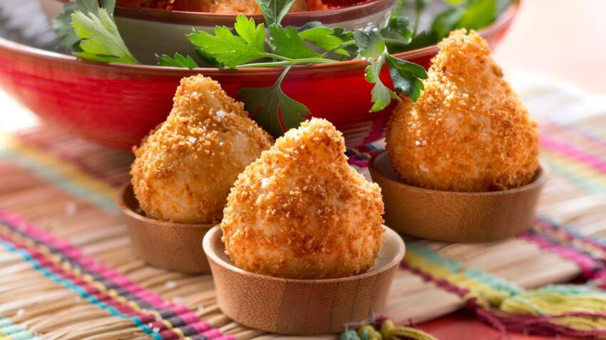 Beignets brésiliens au poulet