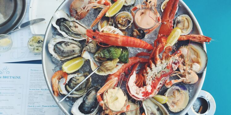 Crevettes, huîtres, moules…  Les fruits de mer, du moins calorique au plus calorique