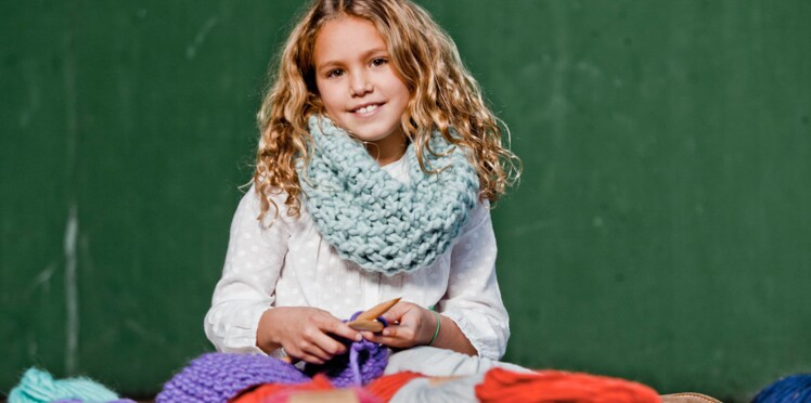 "Snood enfant : le tuto ""We are knitters"""