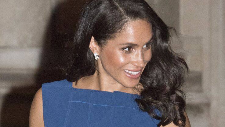 Photos - Meghan Markle enceinte : son petit ventre rond pose question