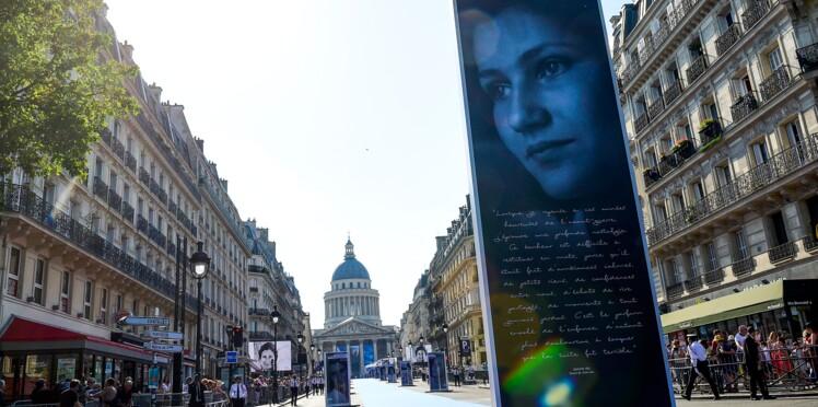 L'exposition sur Simone Veil vandalisée au Panthéon, une enquête est ouverte