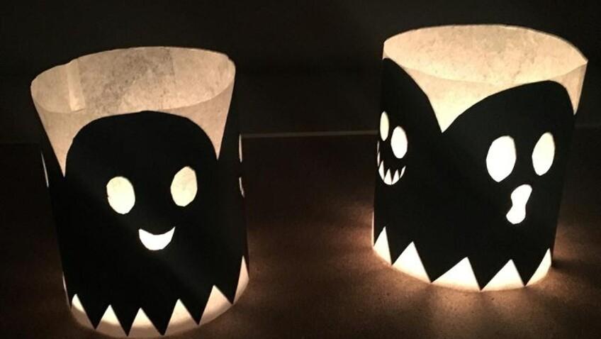 DIY : photophores en papier faciles et originaux pour votre déco d'Halloween