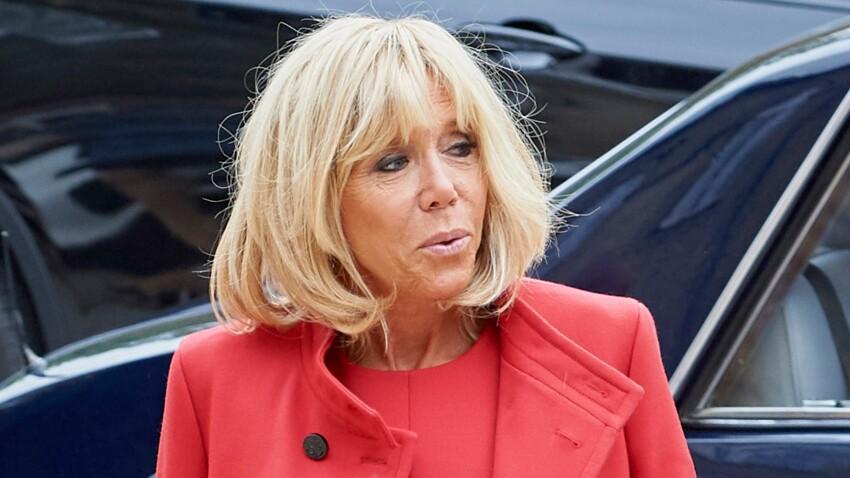 Brigitte Macron, élégante à la Biennale de Paris