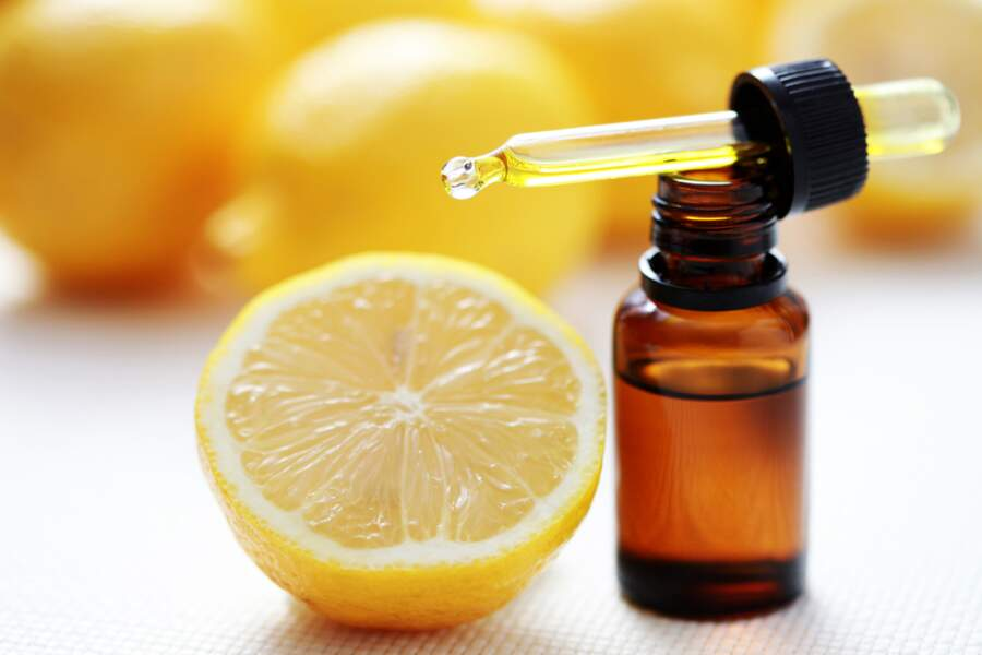 L'huile essentielle de citron
