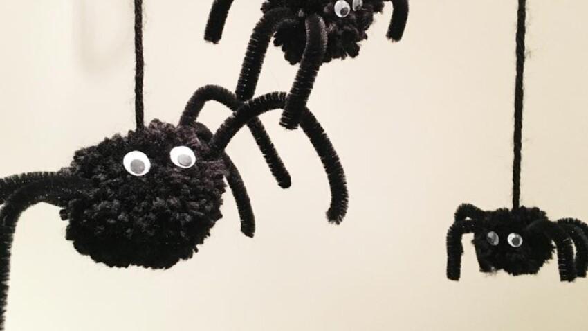 DIY d'Halloween : des araignées faciles à faire avec les enfants