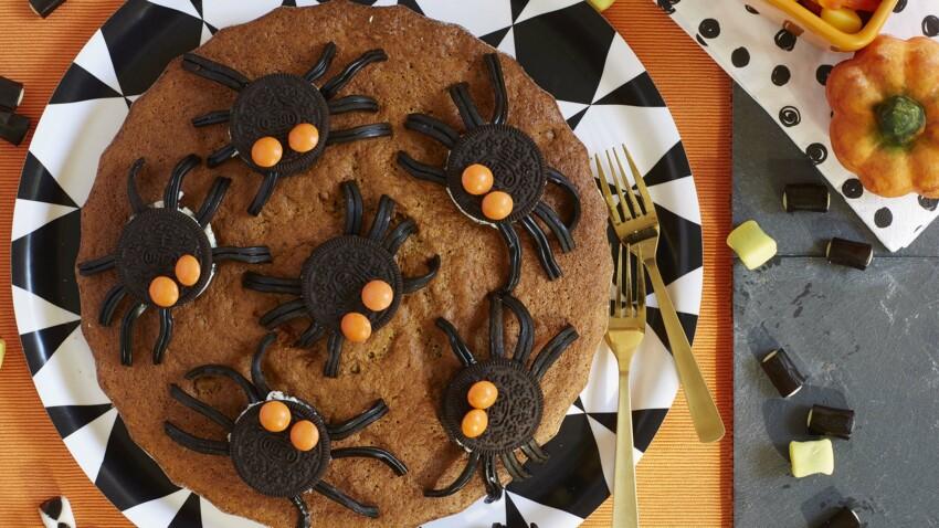 La recette du gâteau araignées facile et rapide pour Halloween