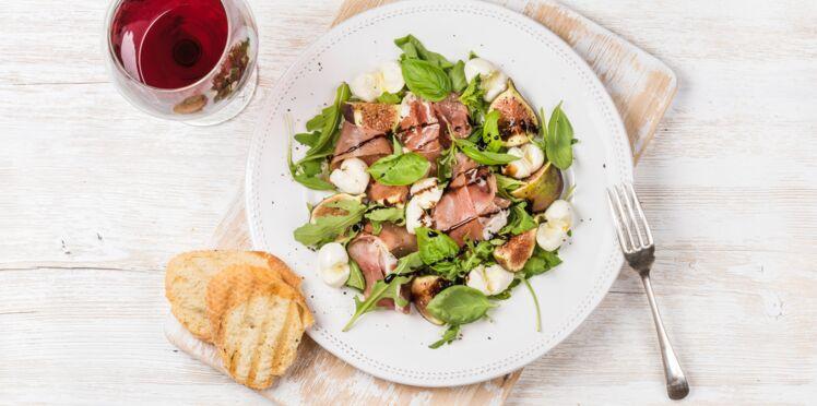 Salade au jambon working girl et konjac