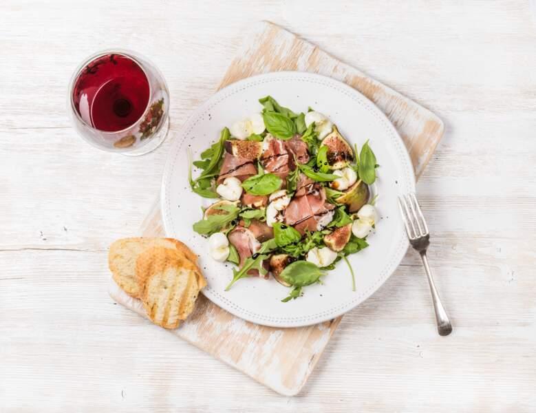 Salade au jambon working girl et konjac