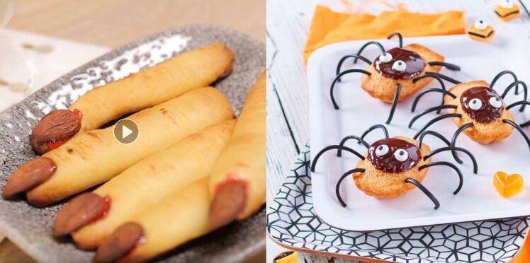 Nos recettes pour un menu spécial Halloween